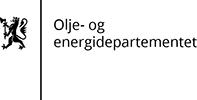 Olje- og energidepartementet  logo