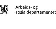 Arbeids- og sosialdepartementet logo