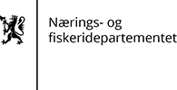 Nærings- og fiskeridepartementet logo