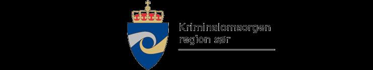 Kriminalomsorgen region sør logo