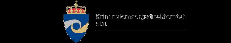 Kriminalomsorgsdirektoratet (KDI) logo