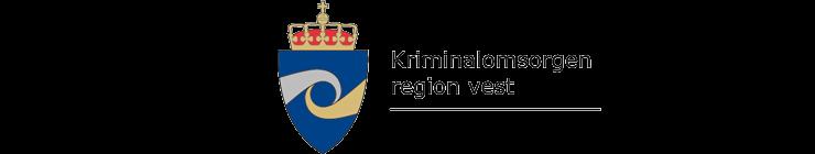Kriminalomsorgen region vest logo