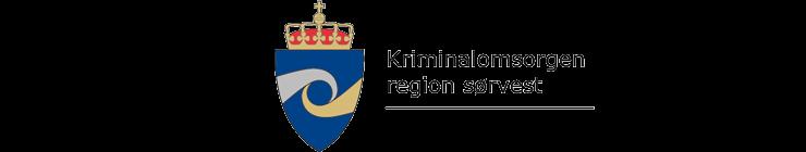 Kriminalomsorgen region sørvest logo