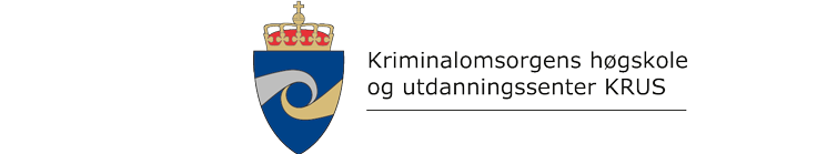Kriminalomsorgens høgskole og utdanningssenter KRUS logo