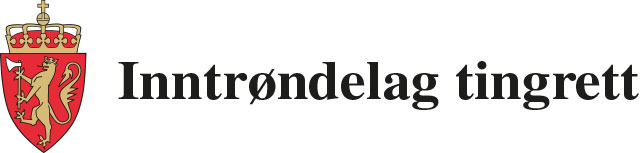 Inntrøndelag tingrett logo