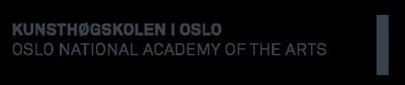 Kunsthøgskolen i Oslo logo