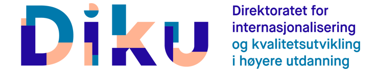 Direktoratet for internasjonalisering og kvalitetsutvikling i høyere utdanning logo