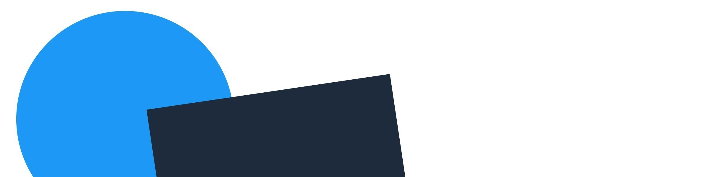 Banner - blå svart