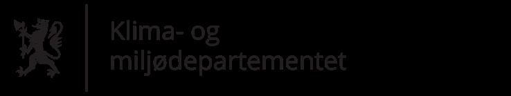 Klima- og miljødepartementet logo