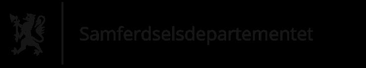 Samferdselsdepartementet logo