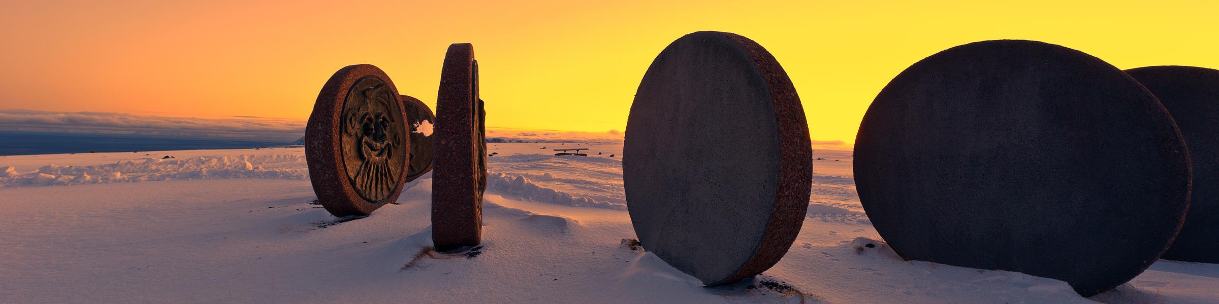 Nordkapp solnedgang