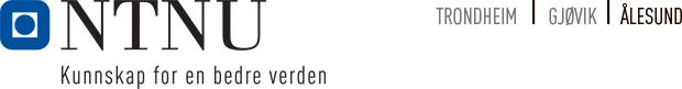 NTNU - Norges teknisk-naturvitenskapelige universitet logo