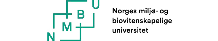 Norges miljø- og biovitenskapelige universitet (NMBU) logo