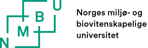 Norwegian University of Life Sciences (NMBU) logo