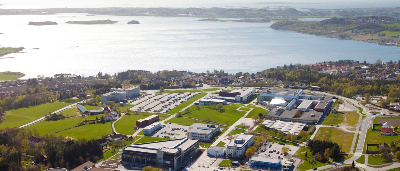 Campus flyfoto